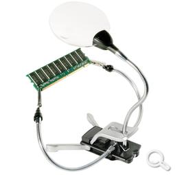 LED-Bastellupe 2x/4x 87mm