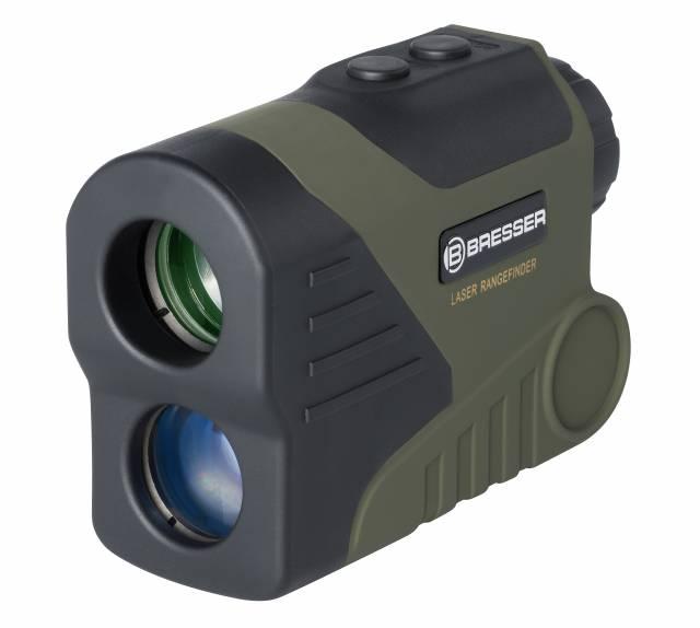 BRESSER Laser Rangefinder & Speedmeter WP/OLED 6×24 – 800m
