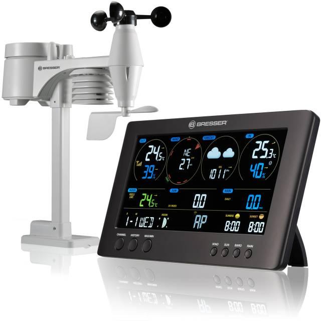 BRESSER WIFI ClearView vremenski center s 7v1 senzorjem