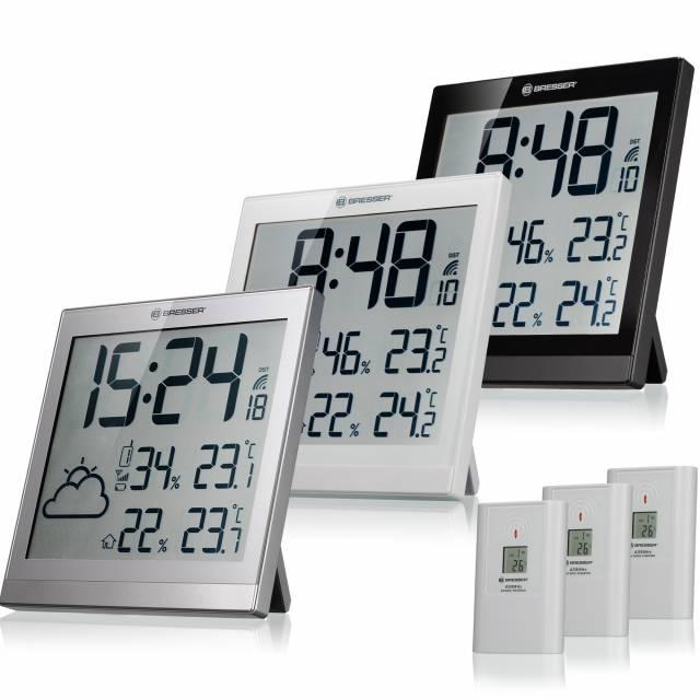 BRESSER TemeoTrend JC LCD vremenska postaja/ura