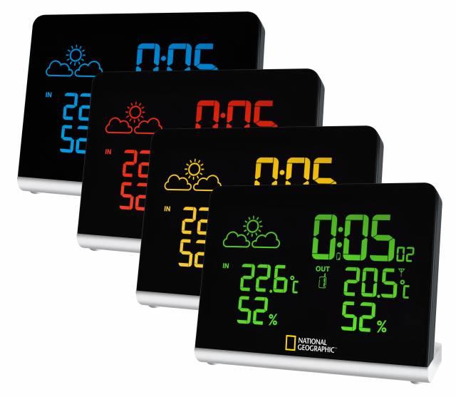 NATIONAL GEOGRAPHIC Multi Colour brezžična vremenska postaja